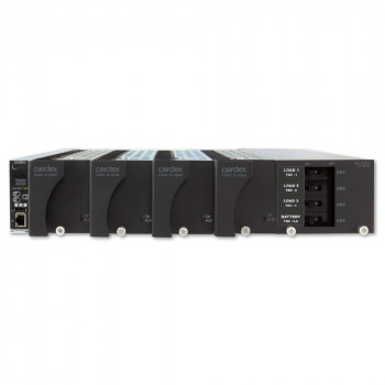 "Cordex 19"" Flush Mount Shelf, 4 x CXRC 12-250W Positions, CXCI HP controller and distribution 2L, 2B, LVDB"