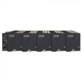 "Cordex 19"" Flush Mount Shelf, 5 x CXRC 12-250W Positions, CXCI HP controller, Bulk Output"