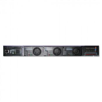 "Cordex 19"" 1U Shelf, 3 x CXRF-HP 1.2kW Positions, CXCM1 HP Controller, Integrated Distribution 8L GMT Fuse, LVBD"