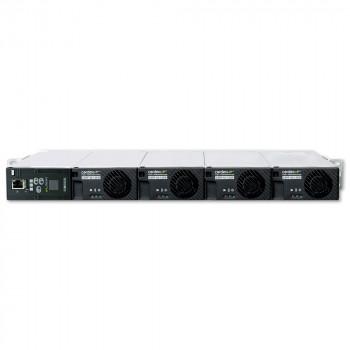 "Cordex 19"" 1U Shelf, 4 x CXRF-HP 1.2kW Positions, CXCM1 HP Controller"