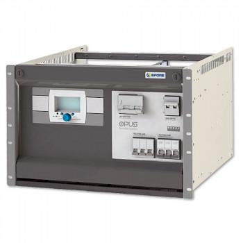 OPUS HE 125-6.0 R 7U F Rack Power System